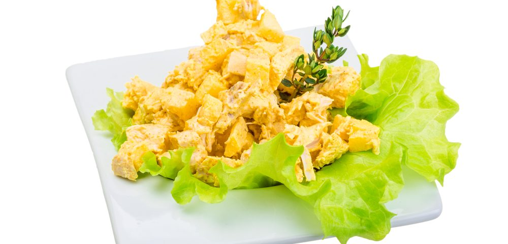 Fight Inflammation with Curry Chicken Salad